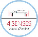 4 Senses house cleaning Logo
