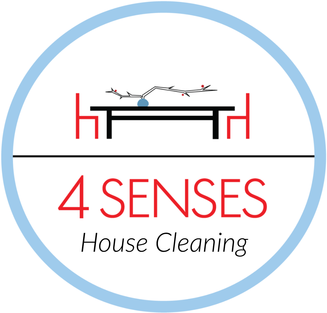 4 Senses house cleaning Logo